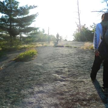 Hiking at Meadowmount