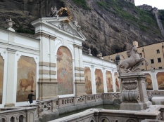 Statues in Salzburg, Austria